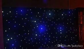 wedding backdrop led 20 square meters blue white color led curtain wedding