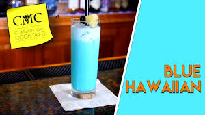 blue cocktails how to make the blue hawaiian cocktail bartending 101 youtube