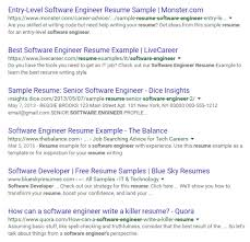 Sample Resume For Google by How To Do A Successful Google Resume Search
