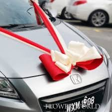 car ribbon ribbon bow bridal car decoration ribbons for bridal car