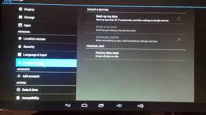 factory reset android android tv factory reset simple mx2 mx3 mxq april 2015