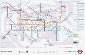 Eurostar Route Map by London Tube Map