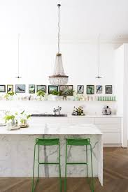 modern eclectic kitchen how to use pantone greenery at home scandinavian kitchen