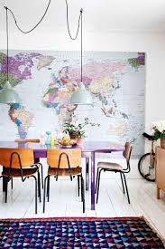 colorful dining room sets ideas including best about purple rooms