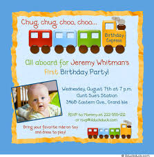 summer 1st birthday invitation all aboard the express