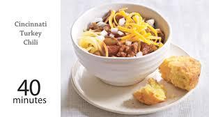 leftover thanksgiving turkey chili recipe cincinnati turkey chili recipe myrecipes