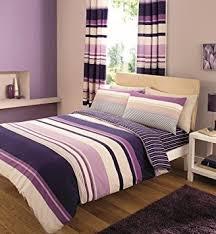 King Size Duvet Sets Uk 8 Piece King Size Duvet Cover Set Including Curtains C S Purple