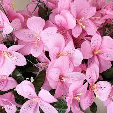 Silk Amaryllis Flowers - 96 silk amaryllis pink efavormart