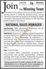 doc 477587 national sales managers jobs u2013 national sales manager