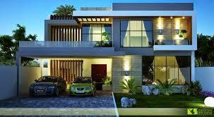 3d Home Design 5 Marla One Kanal House 3d Front Design Blog