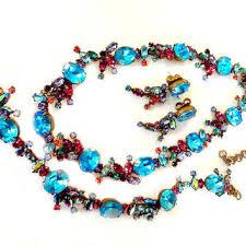 crystal necklace ebay images Cool sorrelli bracelet jewelry vintage inspired crystal necklace jpg