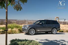 range rover silver ag luxury wheels land rover range rover forged wheels