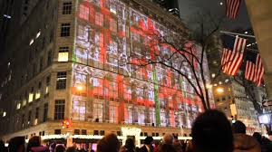 new york city light show macy s