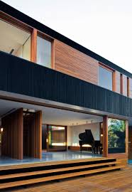 House Design Modern 2015 Nestled Between A Lagoon And A Suburban Streetscape Narabeen
