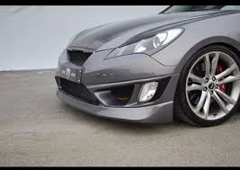 m u0026s genesis coupe night road new front bumper fog lights type