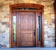Back Exterior Doors Rustic Solid Wood Exterior Doors New Decoration Antique Solid
