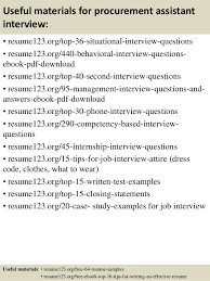 procurement resume procurement resume exles