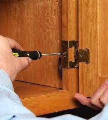 Repair Cabinet Door Hinge How To Fix Cabinet Door Hinges Savae Org