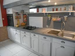 repeindre porte cuisine repeindre meuble rustique cuisine en chaine repeinte en gris