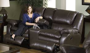 Sofas Center Full Grain Leather by Sofa Catnapper Mushroom Top Grain Leather Allegro Reclining Sofa