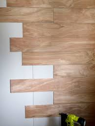 How To Stagger Laminate Flooring Diy Wood Planks Walls Step By Step Tutorial
