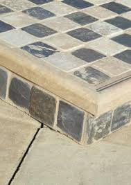 how to make a easy diy ceramic tile chess or checkers board or table