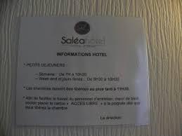 chambre hotes pornic horaires petit déjeuner picture of hotel salea pornic tripadvisor