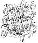Tattoo Alphabet Fonttattoo Images Ideas Fancy Tattoo Fonts ...