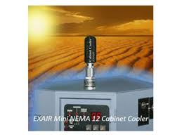 compressed air cabinet coolers keep electronic enclosures cool with the exair cabinet coolers from