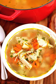 leftover thanksgiving turkey rice soup recipe valya s taste of home