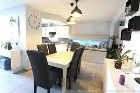 amenagement cuisine ouverte avec salle a manger amenagement salon salle manger cuisine galerie et aménager salon