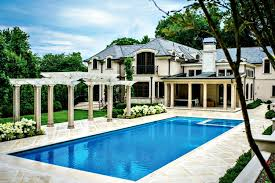 build a pool house rectangular pool designs and shapes