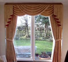 easy swag window treatment inspiration home designs