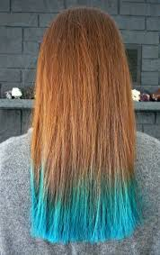 Colors To Dye Brown Hair Two Years Of Turquoise Dip Dyed Hair Rainbow Hair Faq Plus My