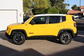 yellow jeep changing the roof color toasterjeep jeep renegade forum