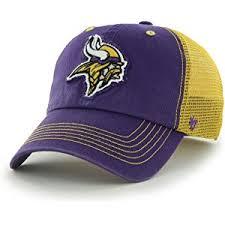 hat with fan built in amazon com minnesota vikings nfl fan shop sports outdoors