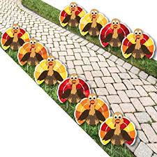 thanksgiving turkey turkey lawn decorations
