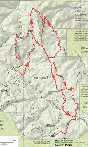 Mt Diablo State Park Map morgan territory eastern trails bay area mountain bike rides