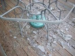 patio table top replacement idea diy replacement patio table tops made of plexiglass since my