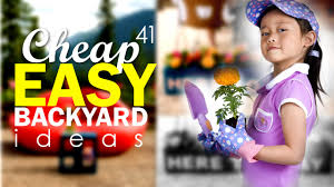 Home Backyard Designs 41 Cheap And Easy Diy Backyard Ideas Youtube