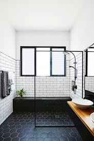 Black White Bathroom Ideas Colors Black And White Bathroom Decor Interesting Chrome Sink Faucets