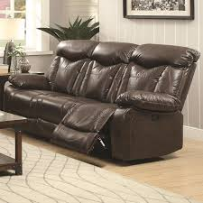 Powered Reclining Sofa by Buy Zimmerman Power Reclining Sofa With Pillow Arms By Coaster