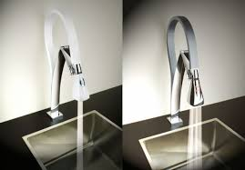 touch sensitive kitchen faucet hi tech kitchen faucets for trendy homes hometone home