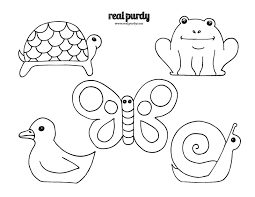 4 best images of printable animal puppet patterns popsicle stick
