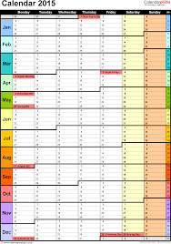 yearly schedule template excel fee schedule template