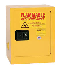 Yellow Flammable Storage Cabinet Eagle Flammable Liquid Safety Storage Cabinet 4 Gal Yellow