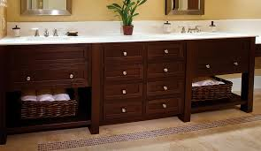 arts u0026 crafts style bathroom cabinets plain u0026 fancy cabinetry