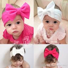 retro headbands hair accessories candy color headbands children s bowknot european