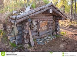 hunting cabin stock photo image of recreational camouflaged