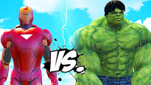 incredible hulk iron man mark 6 epic superheroes battle